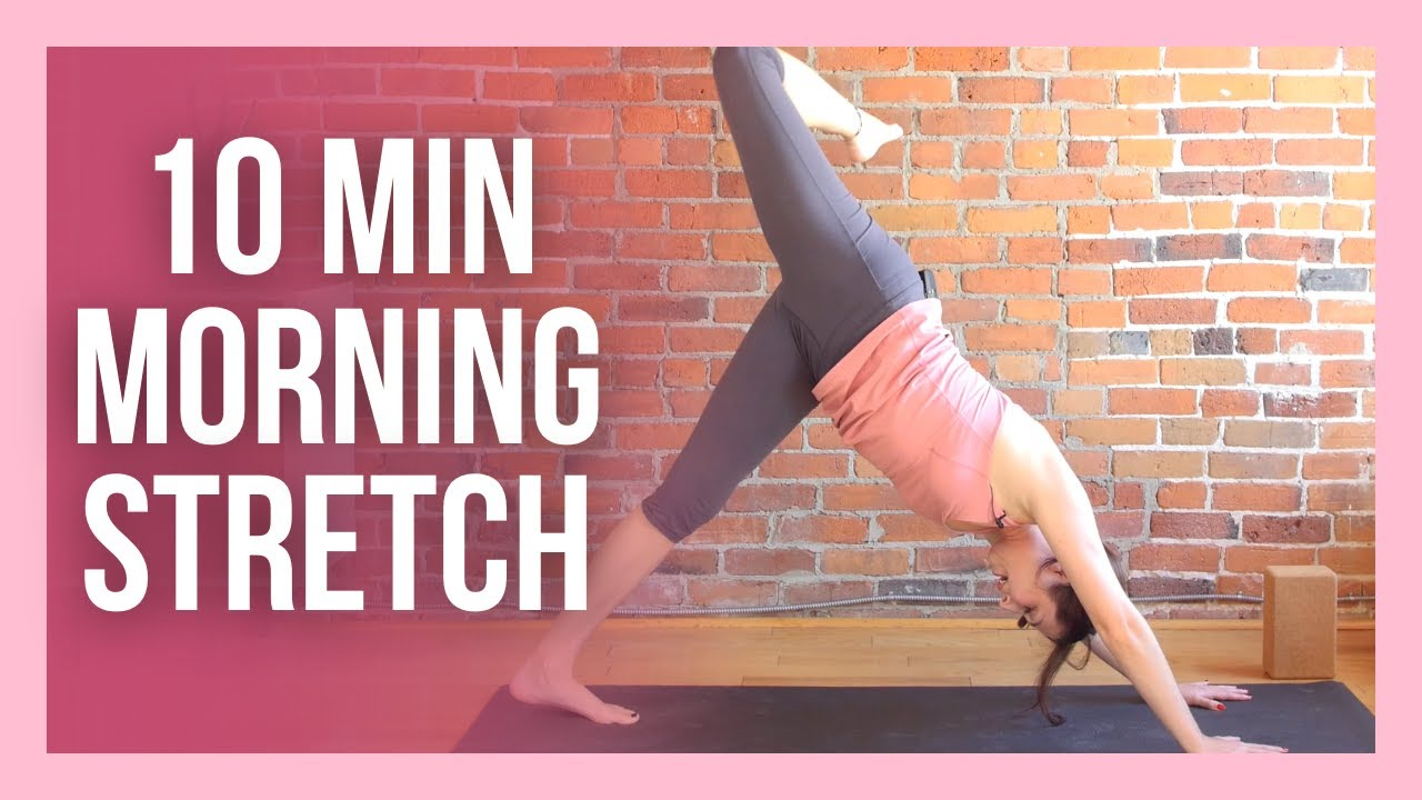 10 min Morning Yoga Stretch - ENERGIZE Your Day!