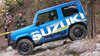 愛知スズキ 新型ジムニー  JDM 2019 Suzuki Jimny Off-road action