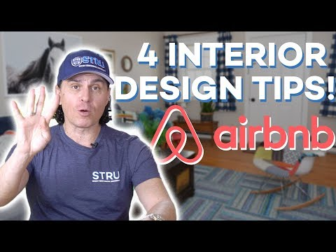 Airbnb Hosting: 4 Interior Design Tips To Make Your Airbnb Standout! 🔥(2018)