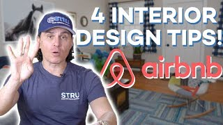 Gambar cover Airbnb Hosting: 4 Interior Design Tips to Make Your Airbnb Standout! 🔥(2018)