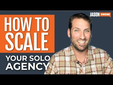 Scaling Your Solo Agency: Partnering, White Labeling, Outsourcing & More.... #AskSwenk ep 57