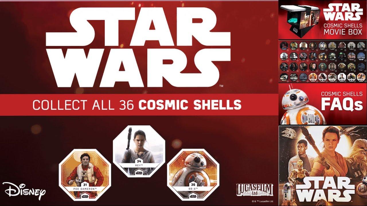 amazing price best choice great deals Star Wars Cosmic Shells & Movie Hologram Box