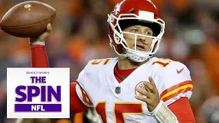 Can Patrick Mahomes Be Slowed By Jaguars defense?   #TheSpinNFL