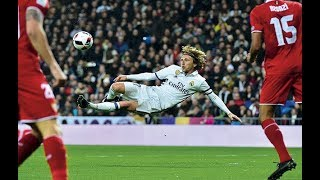 Luka Modric The Fire of Football | Best Goals, Skill and Biography of Luka Modric | Ballon D'Or 2018