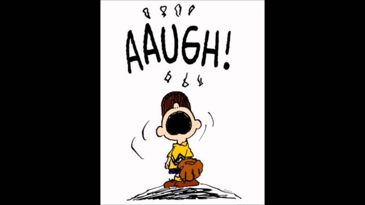 Image result for Peanuts aaugh