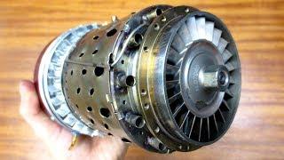Реактивный Двигатель HAMMER iQ-180 - полный обзор+