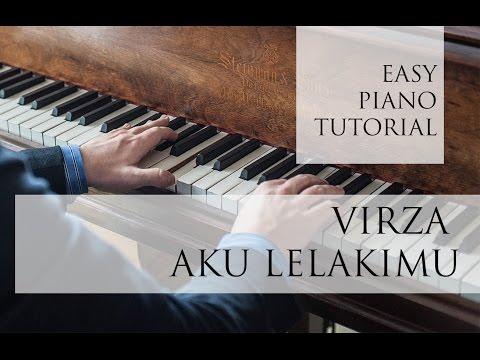 8 MENIT LANCAR MAIN PIANO LAGU Virza - Aku lelakimu - Part 1