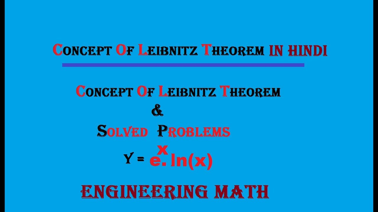 Nth Derivative of e^x logx! problems on leibnitz theorem and ...