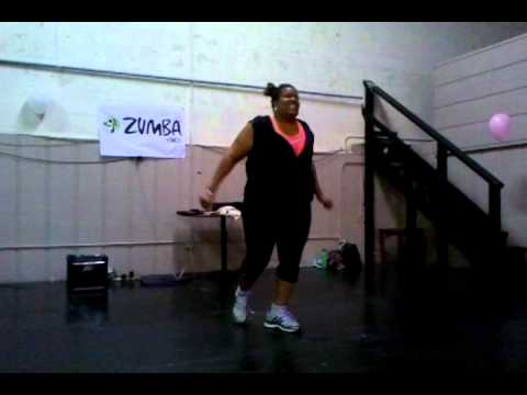 Zumba Dance Michelle Dancing At Galaxy Of Sports In Kinston Nc
