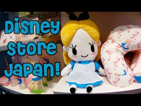 Japan Vlog: Tokyo Disney Store in Japan!