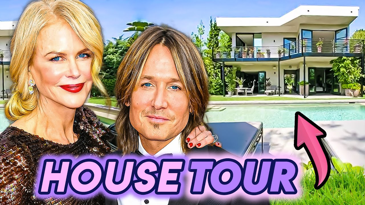 Nicole Kidman & Keith Urban | House Tour 2020 | Nashville Mansion, Los Angeles, and More