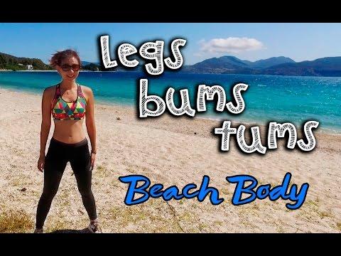 4-Week HIIT Legs, Bums, Tums Beach Body Workout