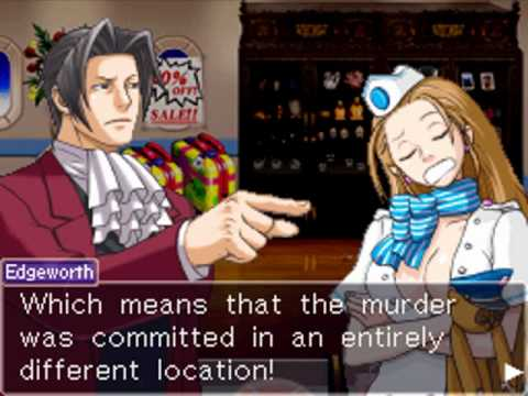 Image result for miles edgeworth investigations
