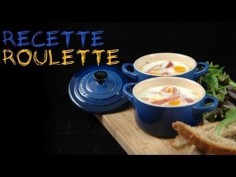 Recette : Oeuf cocotte au Saint-Nectaire !