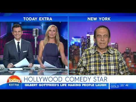 Gilbert Gottfried Australian TV Interview