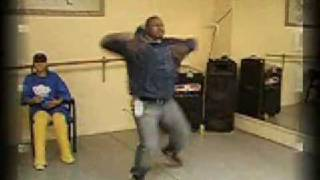 Chris Brown Krumping @ Amountboyz rehearsal