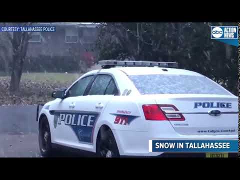Snow falls in Tallahassee as most of Florida faces winter storm watches and warnings