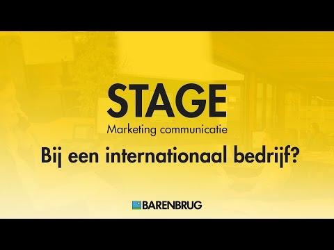 Stage lopen bij Barenbrug Holland BV