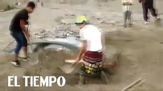 La tierra ya no absorbe más agua en Perú   EL TIEMPO