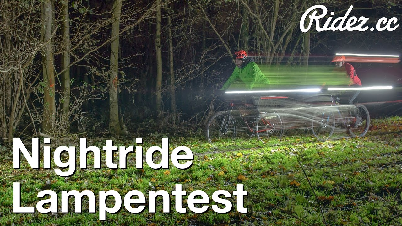 Test mountainbike-lampen BBB, Hope, Lezyne & Sigma - YouTube