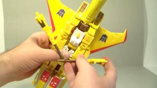 Transformers review Masterpiece Sunstorm