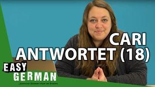 Cari antwortet (18) - Keiner kann Squirrel sagen | Dreckige Straßen | Schlechtes Internet
