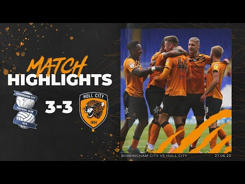Birmingham City 3-3 Hull City | Highlights | Sky Bet Championship