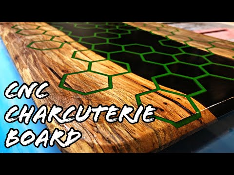 Epoxy Charcuterie Board How To
