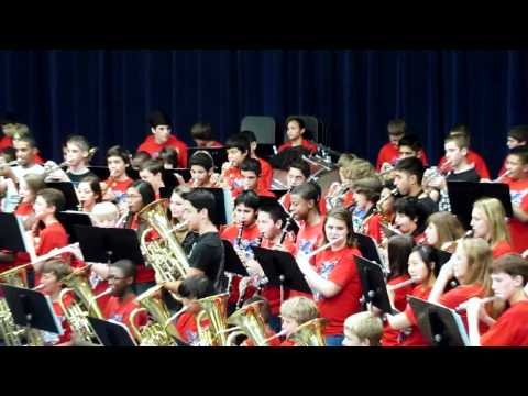 Labay Middle School Spring Band Concert - Combined Bands May 2012