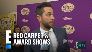 Zachary Levi Gushes Over Reuniting With Mandy Moore | E! Live from the Red Carpet