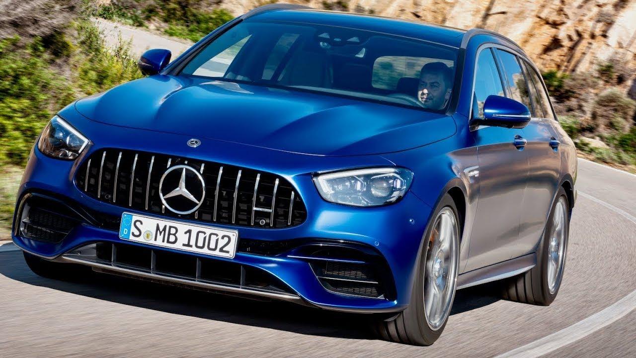 2021 Mercedes AMG E 63 S Estate 4MATIC+ Estate - YouTube