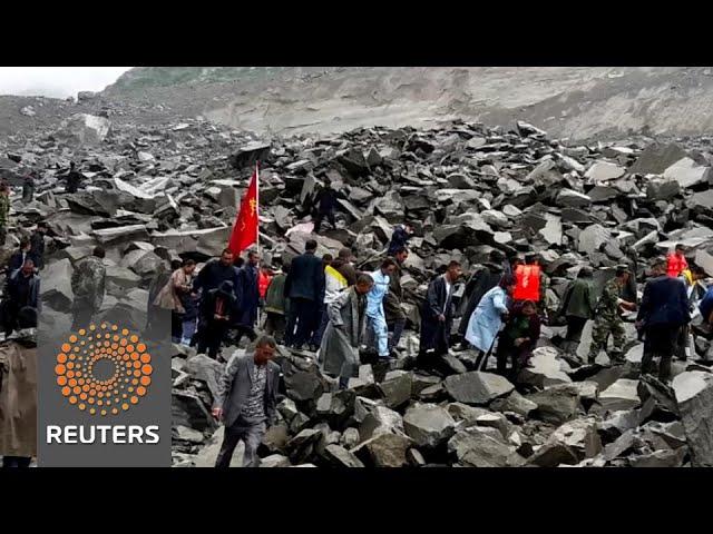141 people missing in China landslide
