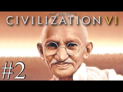 GANDHI LOVE NATION - Civilization VI - Religious Victory #2
