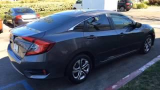 Honda Civic | Madico 35% (front) & 20% (back)  DP Tint | DP Tint