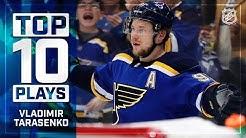 Top 10 Vladimir Tarasenko plays from 2018-19