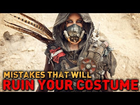 5 MORE MISTAKES that will RUIN your post-apocalyptic costume
