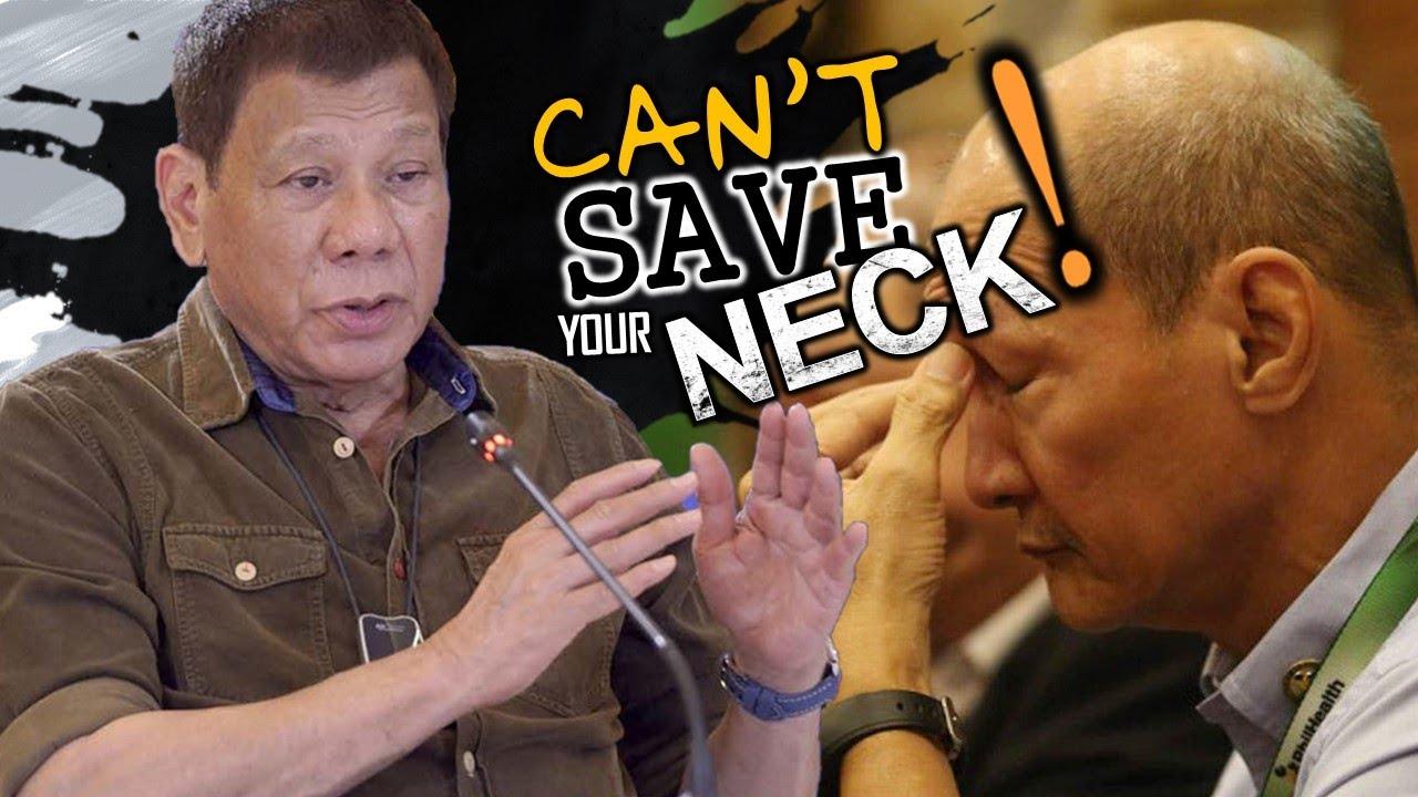 "TROPA ni Morales hihiritan ni Duterte ""your resignation will not save your neck"""