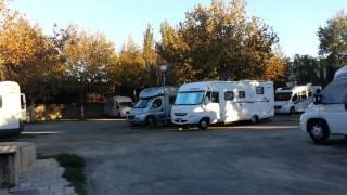 Aire de stationnement camping car de Saint Tropez (83 - Var)