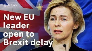 New European chief open to another Brexit delay