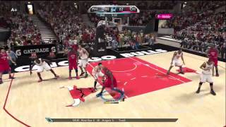 NBA 2K10 - My Player - 1st Game as a Starter
