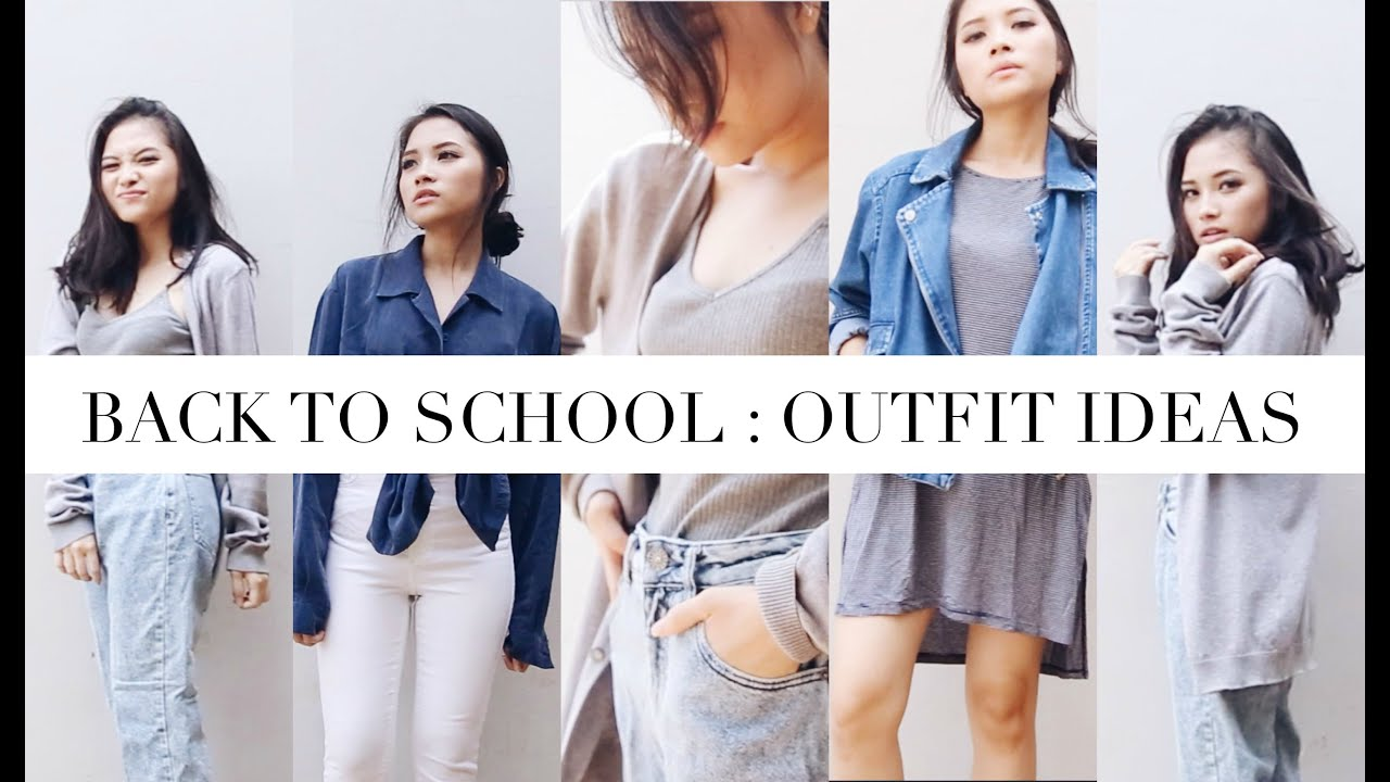 Back To School(College) Outfit Ideas 2015  sc 1 st  YouTube & Back To School(College): Outfit Ideas 2015 - YouTube