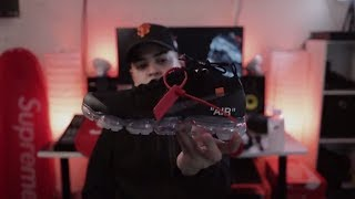 Nike Air VaporMax Off-White Black 2018 Virgil Abloh Review In Hand | On Foot