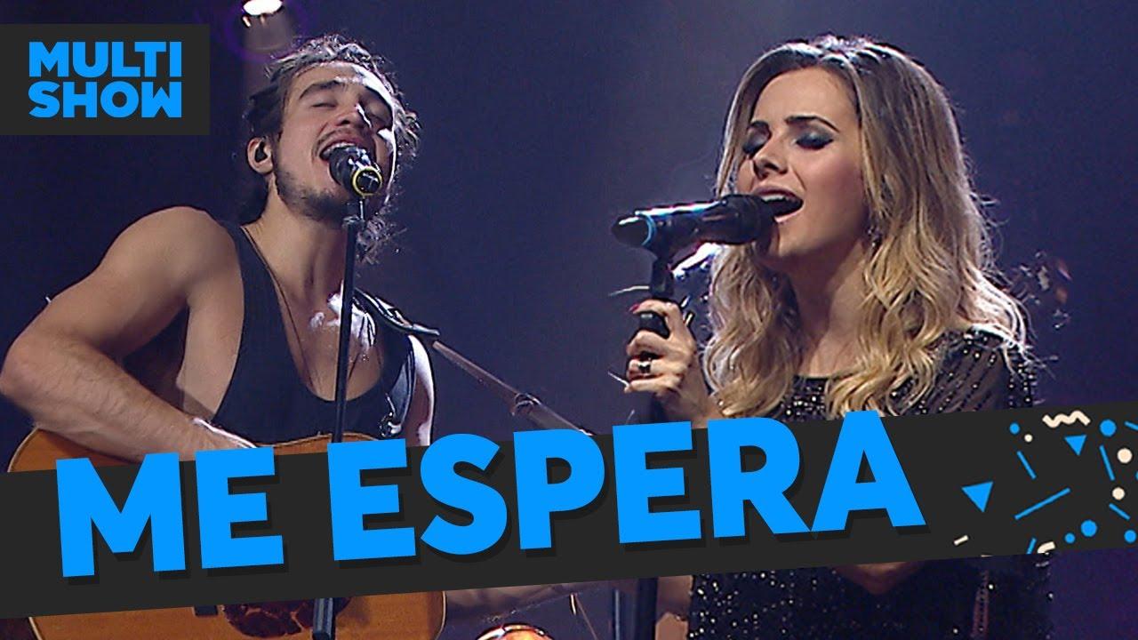 Me Espera Sandy Tiago Iorc Música Boa Ao Vivo Música Multishow Youtube