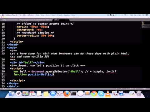 A Quick Demo Of What HTML, CSS And JS Can Do These Days
