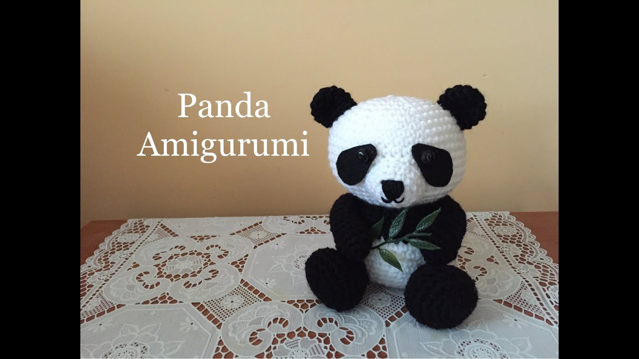Tutorial Amigurumi Annarellagioielli : Panda amigurumi tutorial youtube