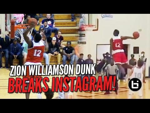 Zion Williamson's Dunk Breaks the Internet... AGAIN!