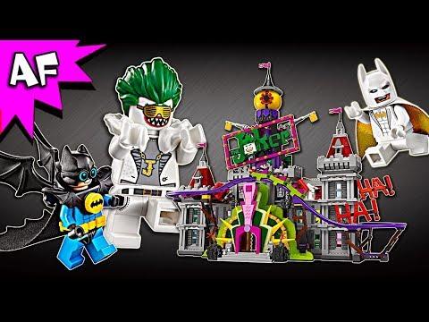 Lego Batman Movie The Joker Manor 70922 Speed Build