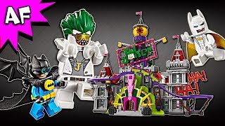 Lego Batman Movie The Joker Manor 70922 Speed Build