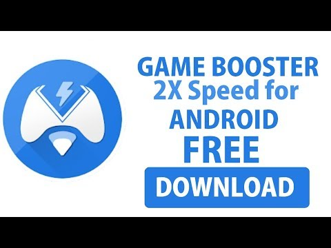 How to download Game Booster 2X Speed for games apk free by Mr.Somebody.