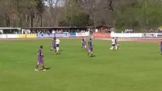 26. Spieltag: TV Jahn Hiesfeld - 1. FC Bocholt 2:1 (2:0)